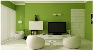 Contoh warna cat ruang keluarga