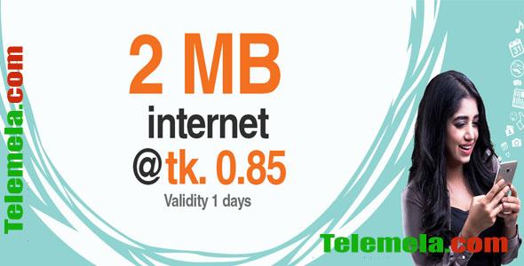 Banglalink 2 MB Internet 85 poisha