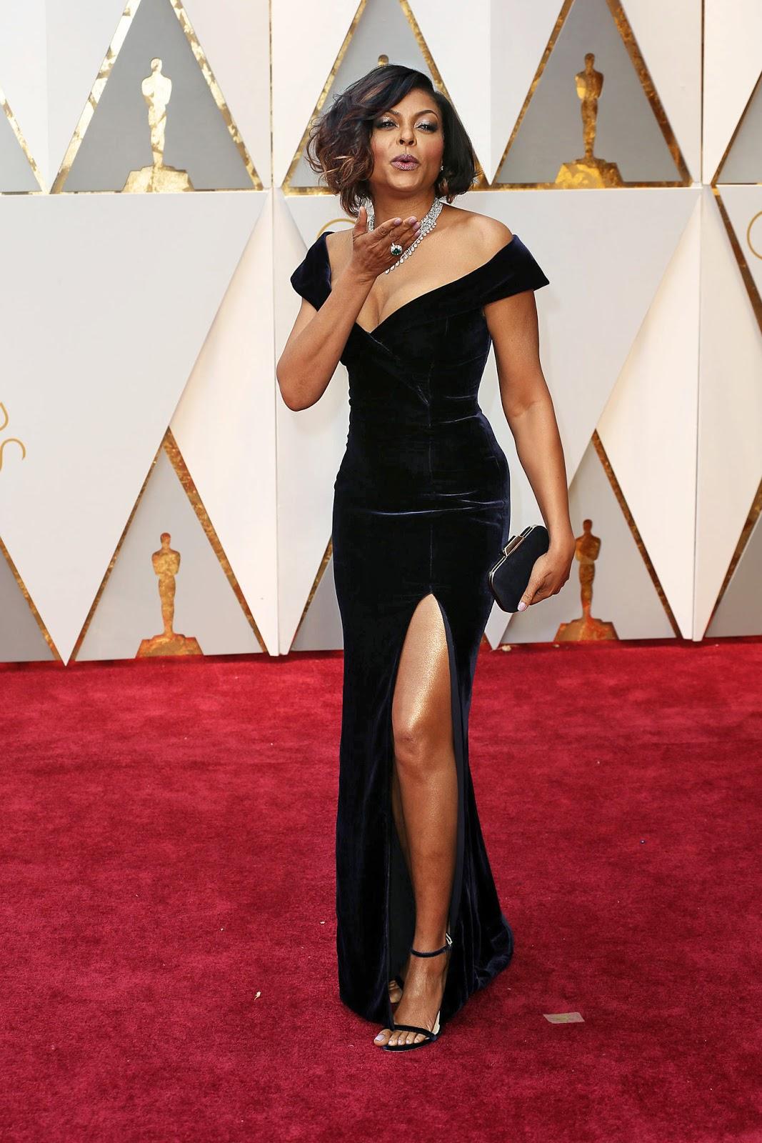 Taraji P. Henson - Alberta Ferretti Oscars 2017