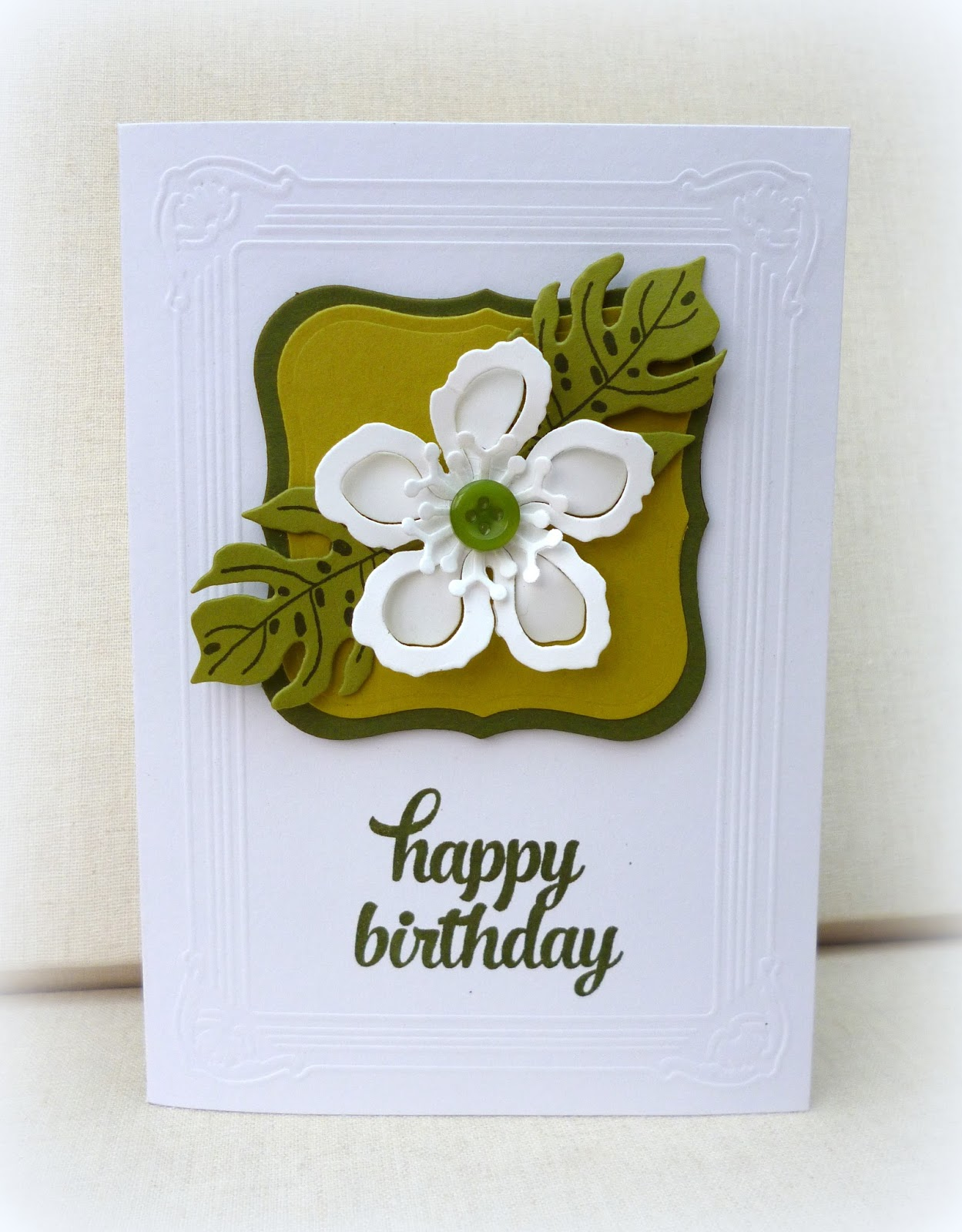 White House Stamping – White House Birthday Cards