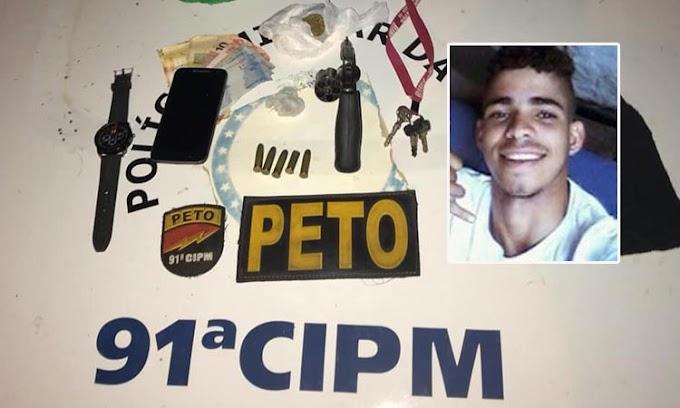 Após reagir a prisão, jovem morre em confronto com a PM em Capim Grosso