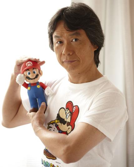 Shigeru Miyamoto Mario Bros