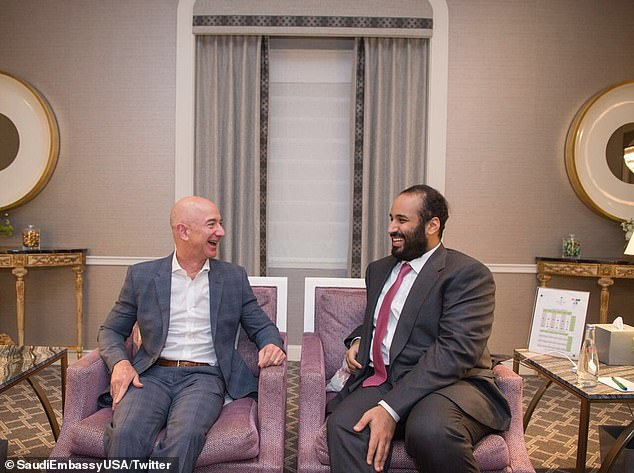 Jeff Bezos,Saudi Prince
