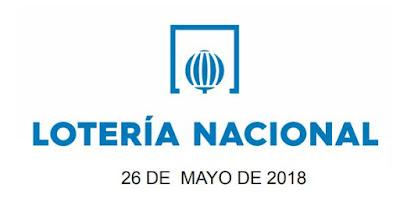 Resultado de la loteria nacional sabado 26 mayo 2018