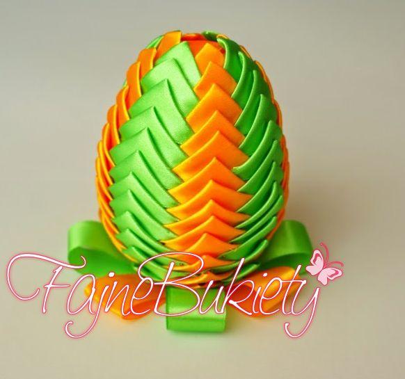 Jajka wielkanocna dekoracja stroik