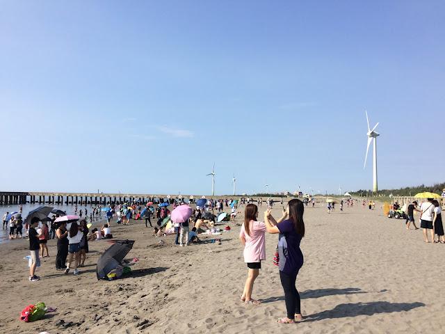 大安濱海沙灘