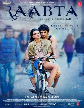 Raabta 2017 Hindi 700MB DVDRip 720p ESubs HEVC