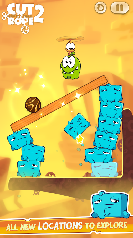 cut the rope free  for windows 8 full version