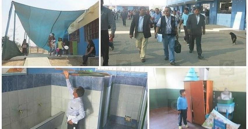 Fiscalía da cinco días para subsanar deficiencias en colegio Enrique Paillardelle de Tacna