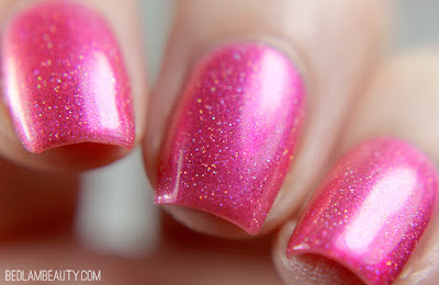 Top Shelf Lacquer Technically, Alcohol is a Solution | Bright Shimmers Collection