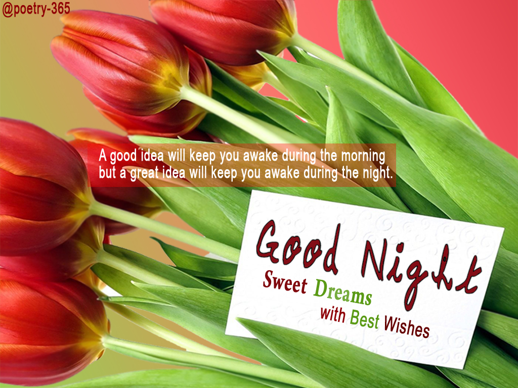 Wishes And Poetry Good Night Quotes Sweet Dreams With Best Wishes