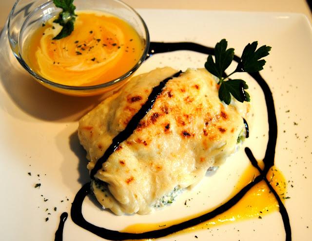 El placer de cocinar br coli al grat n con crema de calabaza - Bechamel con nata para cocinar ...