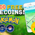 Get 14,500 Pokecoins for Pokemon Go!