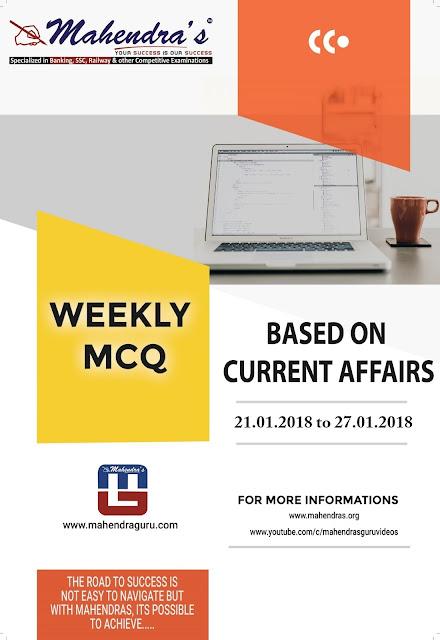 Weekly Pocket | January 21, 2018 - January 27, 2018