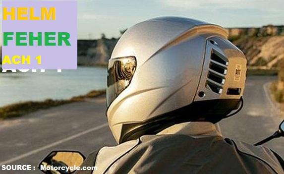 Feher ACH-1, Helm Pertama di Dunia Yang Dilengkapi Dengan AC