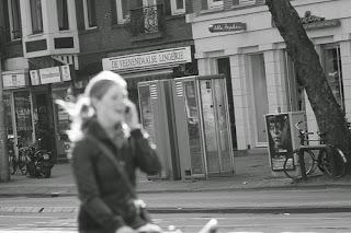 Idiot cyclist, Amsterdam
