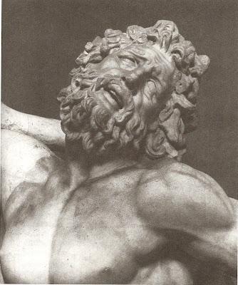 Gruppe Des Laokoon, Detail: Kopf Des Vaters.