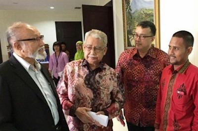 Gubernur dan Wali Nanggroe Bertemu Wapres di Istana, Bahas Bendera Aceh