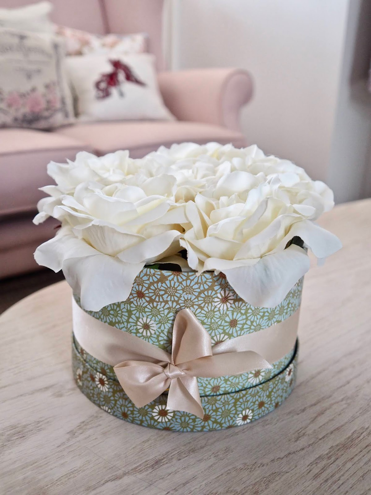 Diy Flower Bouquet Box Dainty Dress Diaries