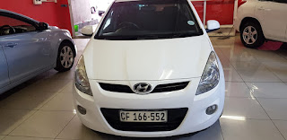 Used car for sale in Cape Town - 2009 Hyundai i 20 AUTOMATIC in white Km153549