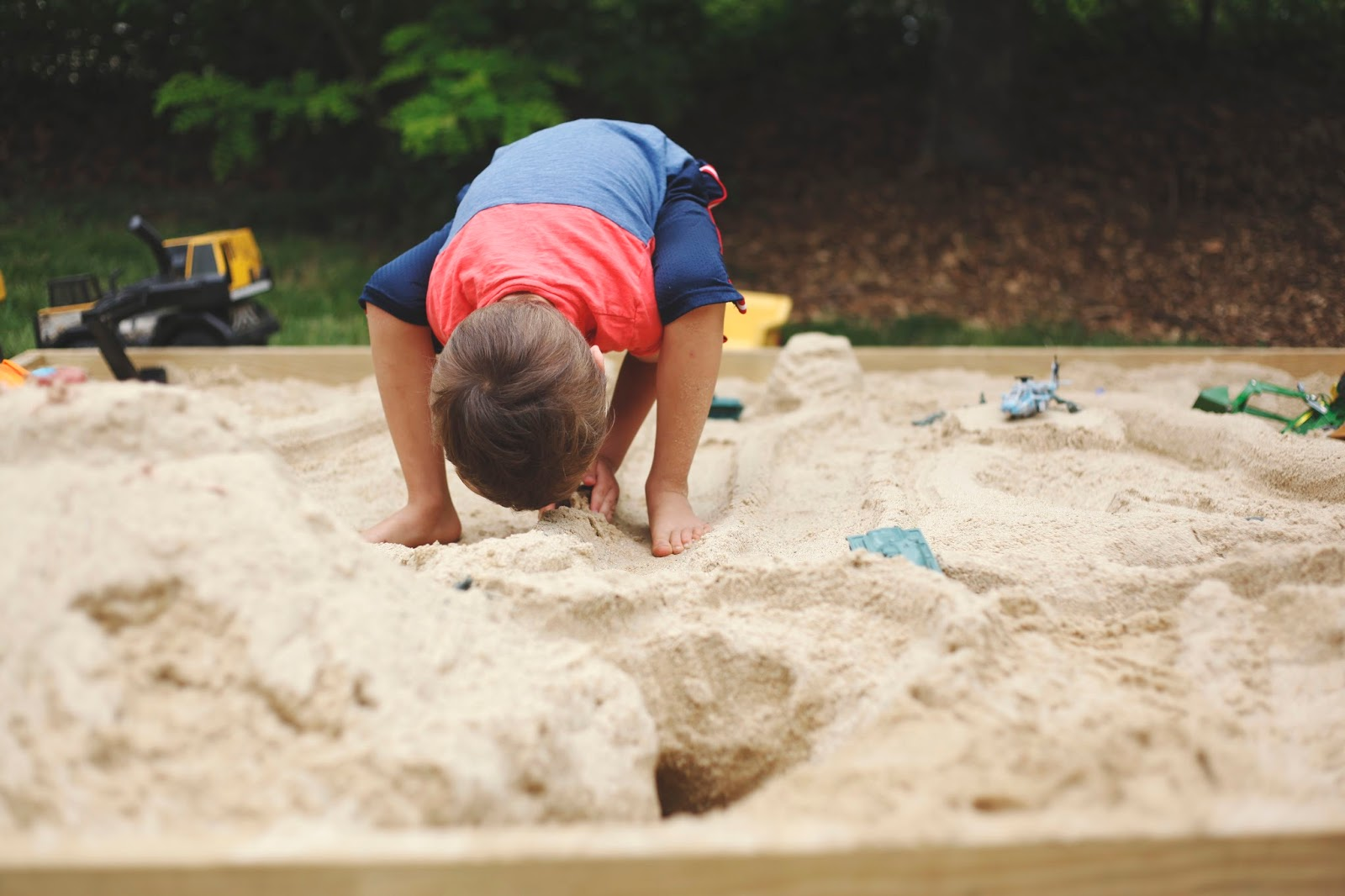 a sandbox and some of my favorite pictures ever tales of me