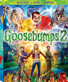 R.L. Stine books, books made into movies