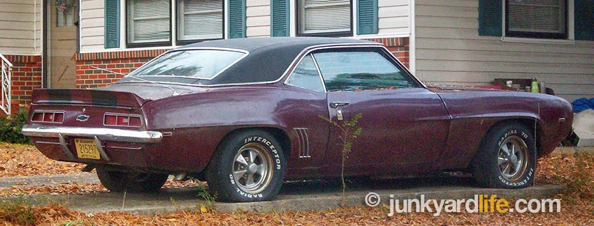 1969 Chevy Camaro found neglected but not for sale. The muscle car soon disappeared.