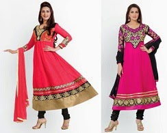 Women's Dress Material- Minimum 60% off @ Myntra