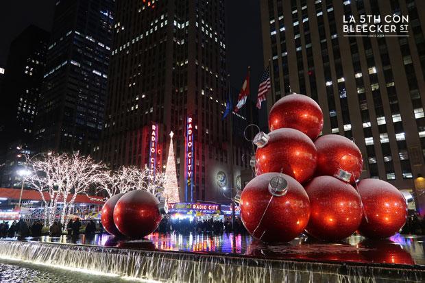 Decoracion de Navidad en Nueva York Rockettes en el Radio City Music Hall
