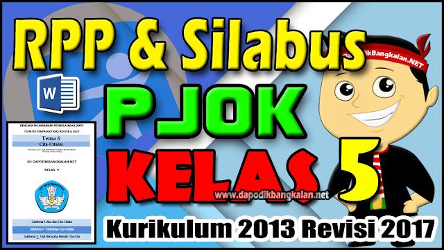 RPP Silabus PJOK Kelas 5 Kurikulum 2013 Semester 2