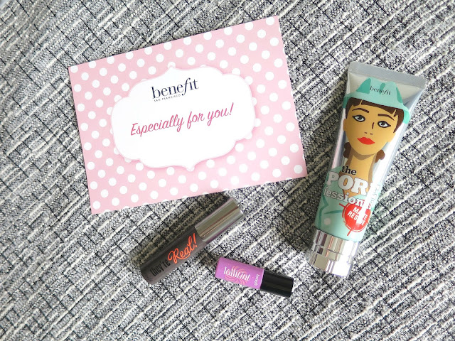 Benefit the POREfessional Matte Rescue Primer Oily Skin Miniature Free Samples Review