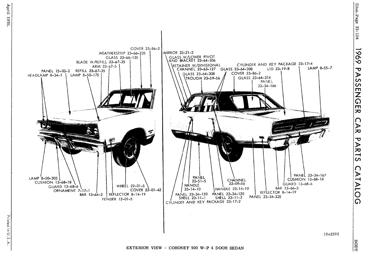 1967 Dodge Coronet Wiring Diagram Auto Electrical Related With