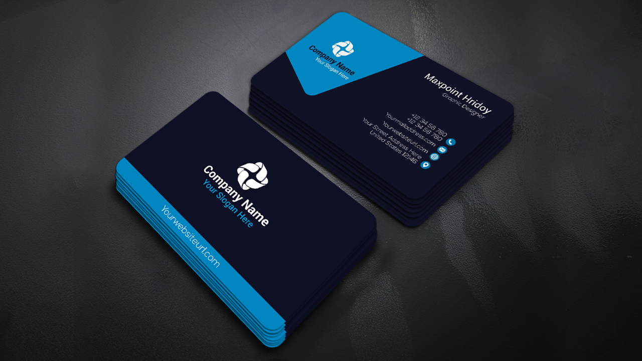 Business Card Design How To Make A Corporate Adobe Illustrator Tutorial