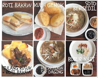 Tempat Makan Sedap Breakfast port Dickson