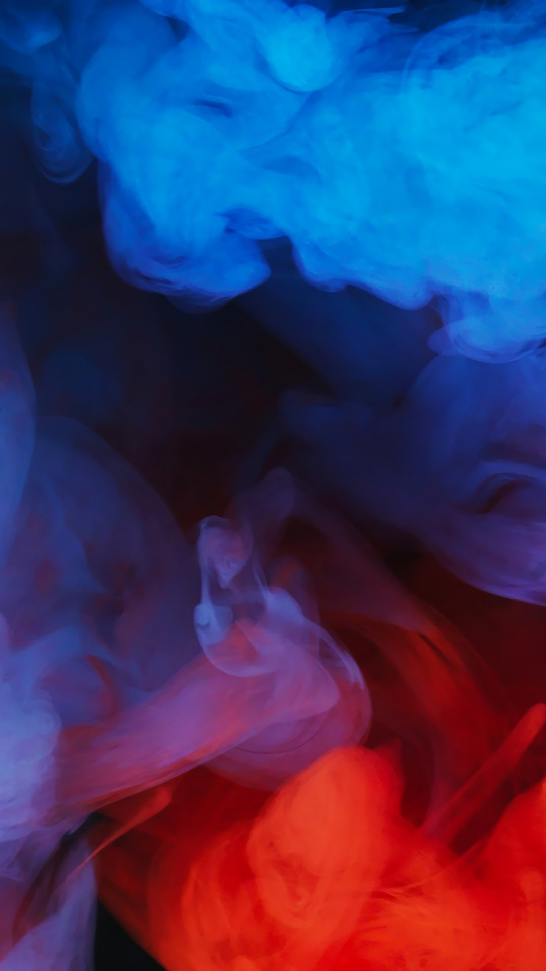 Blue Red Smoke Abstract 4k Wallpaper 53