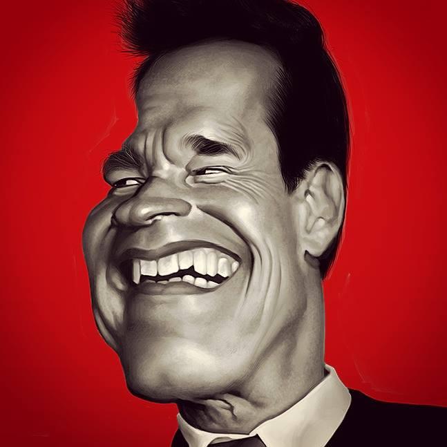 Arnold Schwarzenegger por Alex Gallego