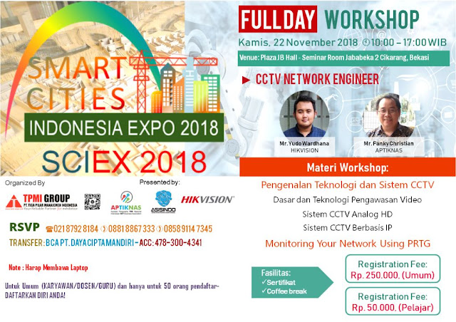 Workshop CCTV Network Engineer 22 Nov 2018