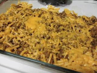 Mac & Cheese Taco Bake Recipe