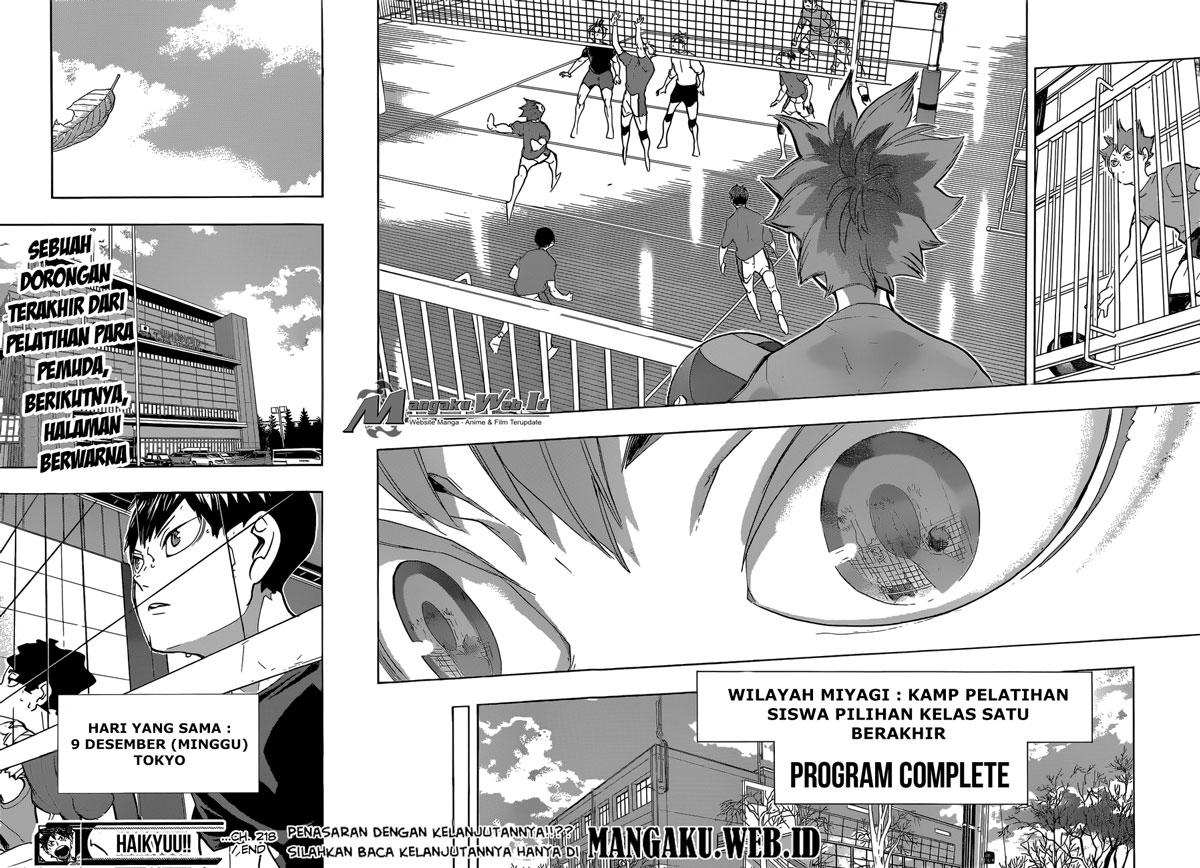 Haikyuu Chapter 218-19