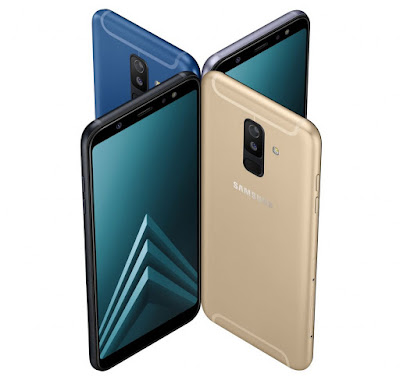 Samsung Galaxy A6 and A6+ with Infinity Display Launched