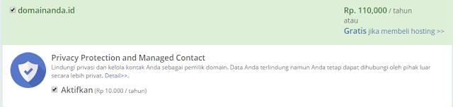 cara membeli domain di blogger 2