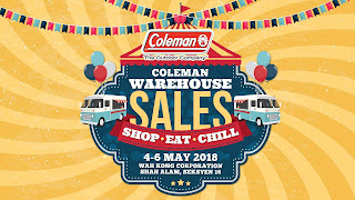Coleman Warehouse Sale 2018