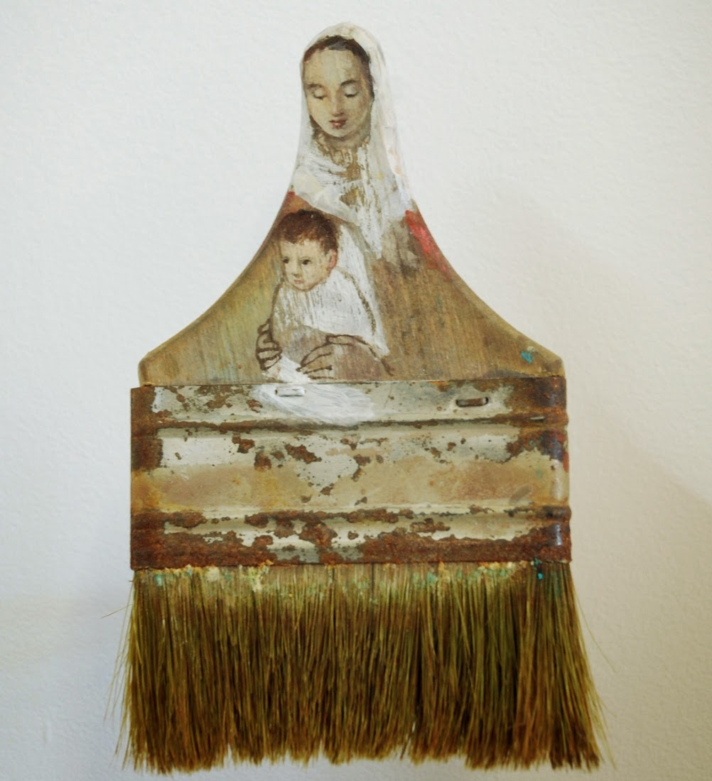 08-Madonna-and-Child-Rebecca-Szeto-Rebirth-Paintbrush-Sculpture-www-designstack-co