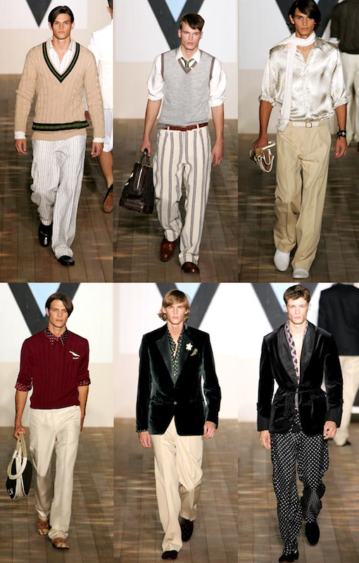 Louis Vuitton by Marc Jacobs SS 2005 Menswear