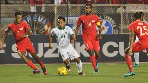 Đánh bại Singapore, Indonesia giành vé vào bán kết AFF Suzuki Cup