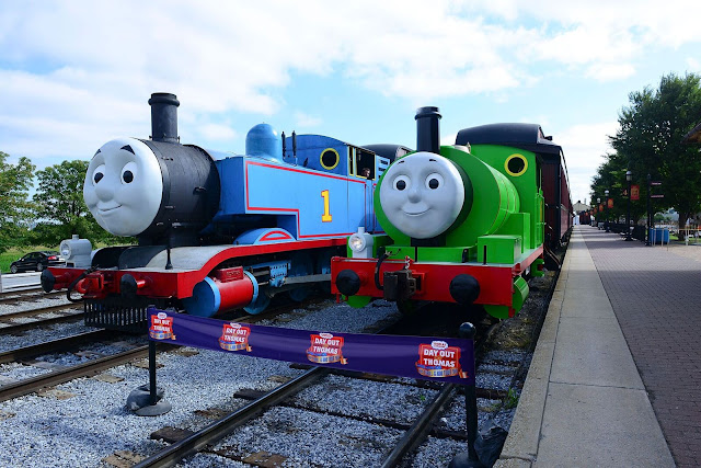 Strasburg Railroad, Percy, Thomas, train rides