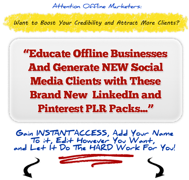 LinkedIn and Pinterest Bundle Pack [Generate More Social Media Clients]