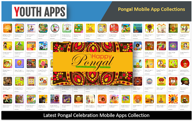 Latest 2019 Pongal Mobile Apps Collection
