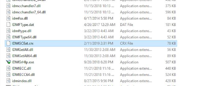 Cara memunculkan tombol download idm