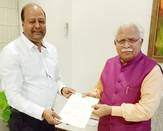 J.C.Bose University Contributed 5.3 lakh rupees for flood relief in Kerala